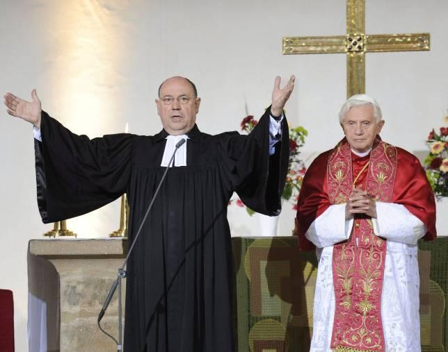 Matrimonio Catolico Y Protestante : El papa pide a los protestantes luchar juntos contra la