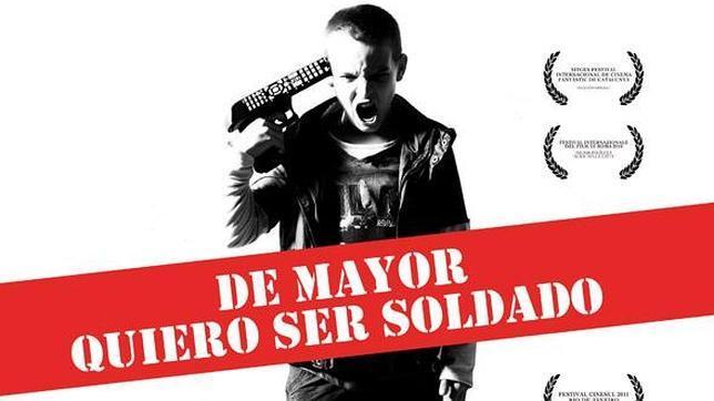 De mayor quiero ser soldado. Cartel_peli--644x362