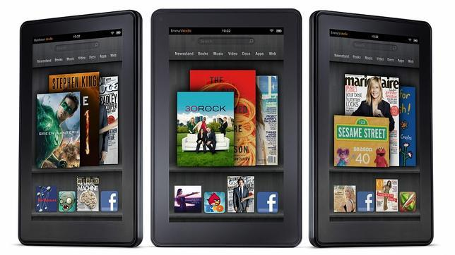 As� es Kindle Fire, el tablet de Amazon