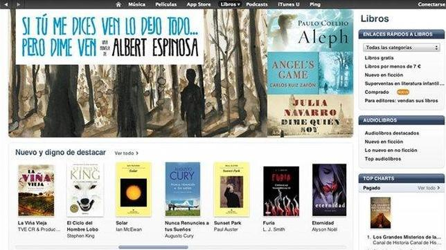 Captura de iBookstore