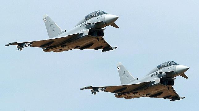 España debe 600 millones a Eurofighter, según el presidente de EADS, Luis Gallois