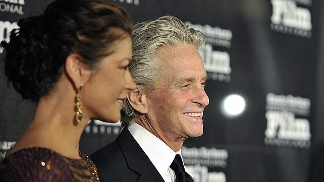 Michael Douglas y Catherine Zeta-Jones, felices e inseparables
