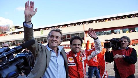 Montezemolo: «Lo siento por la Prensa, pero Massa seguirá en Ferrari»