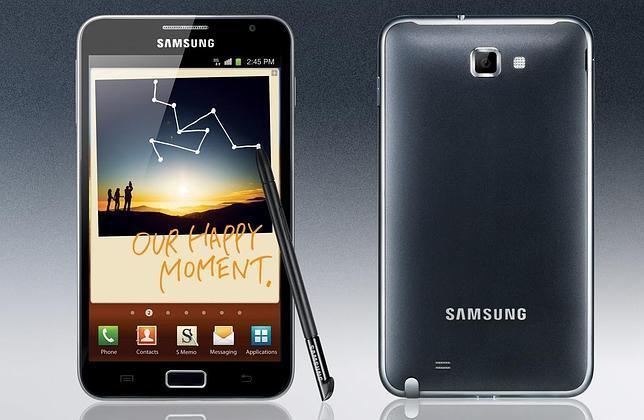 Así es el nuevo Samsung Note, entre el tablet y el móvil