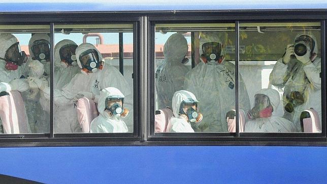 Un grupo de periodistas visita Fukushima por primera vez desde el terremoto