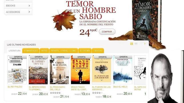 La Casa del Libro lanza librería virtual y un «e-reader» propio