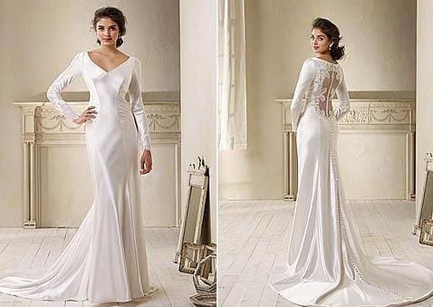 el vestido de novia de kristen stewart en «amanecer» ya tiene