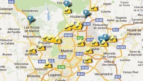 Ms de 100 kilmetros de atascos en Madrid  ABCes