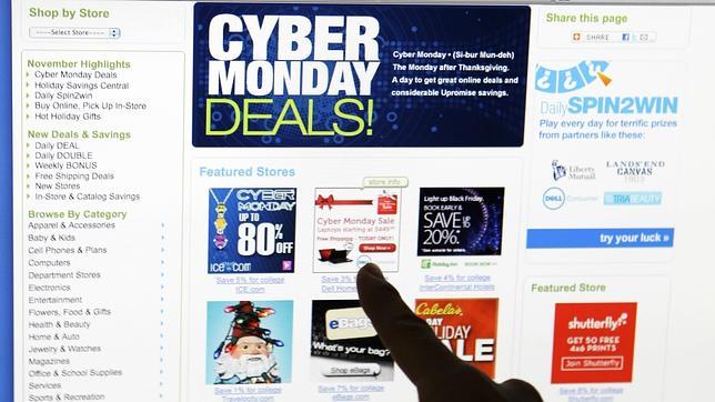 6d51e312e60f La tiendas «on line», a la caza de consumidores en el «Cyber Monday ...