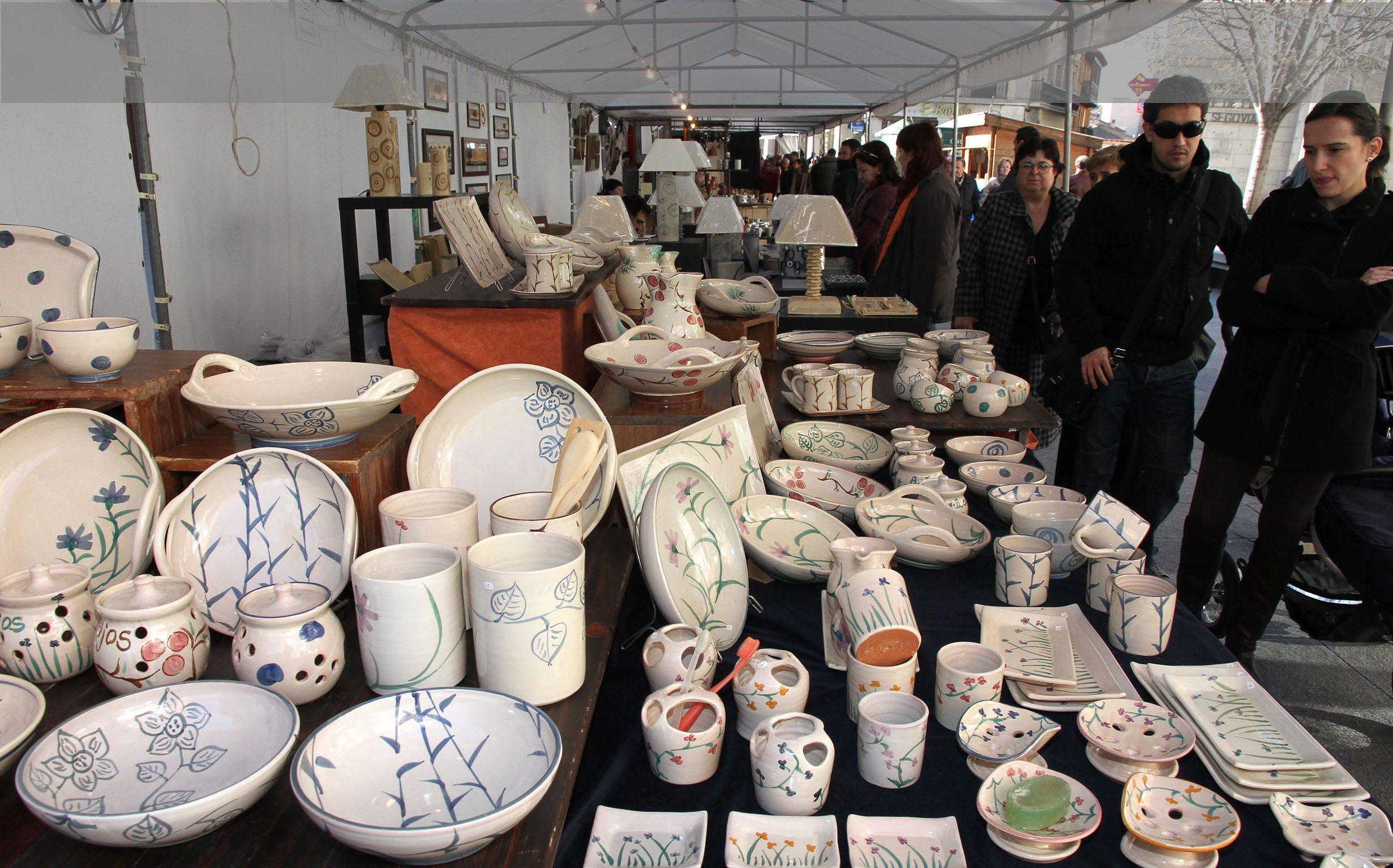 La feria de cer mica y alfarer a de segovia concentra a Ceramica artesanal valencia