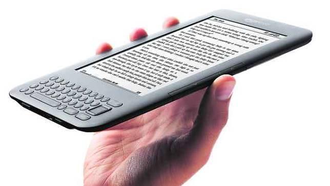 El libro electrónico salvó al autor sin papel