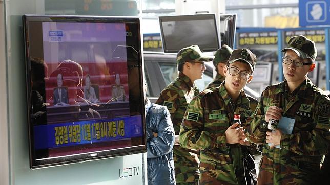 La Fuerzas Armadas de Corea del Sur, en alerta