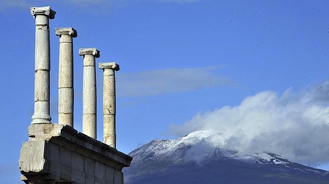 Se derrumba un nuevo pilar en Pompeya