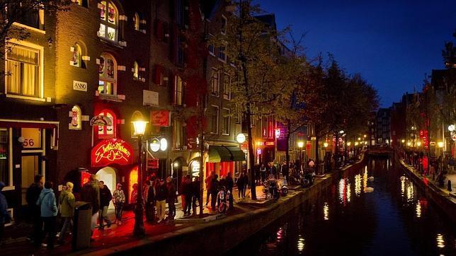 Escolta del distrito rojo de Amsterdam