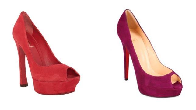 Yves Saint Laurent cree que sabemos distinguir entre estos dos zapatos 9f0b6bdd291