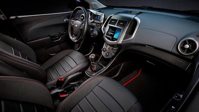 Chevrolet Sonic RS, «marcha» en el cuerpo