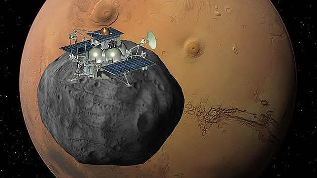 Rusia sugiere que la caída de la nave Phobos-Grunt ha sido provocada Phobos-grunt1--644x362