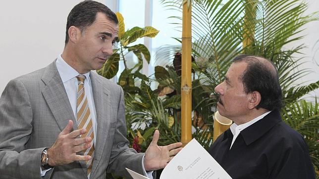 El Príncipe, en su reunión con Daniel Ortega