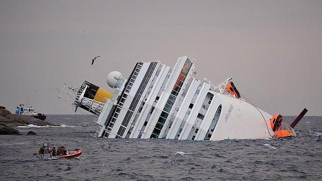 El Riesgo De Hundimiento Del Crucero Costa Concordia