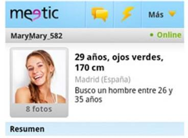 Meetic llega a Android