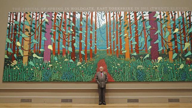 La consagración de la primavera inglesa, por David Hockney