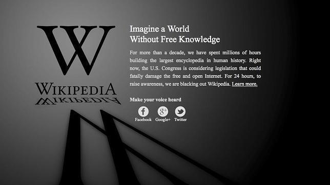 Internet cierra filas contra la ley SOPA
