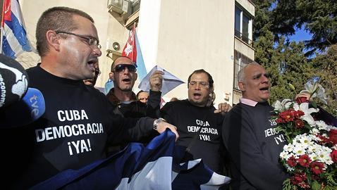 Protesta de cubanos