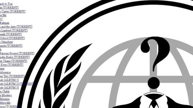 Anonymous sube a la red la discografia completa de sony