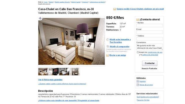 La estafa de los pisos baratos de «lujo»