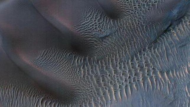 Dunas artísticas sobre Marte