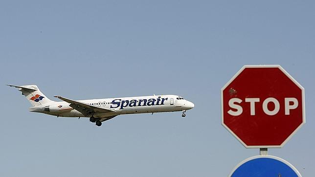 Spanair prepara la suspensión de actividades tras el fin de las subvenciones