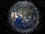 La basura espacial obliga a la Estación Espacial Internacional a corregir su órbita