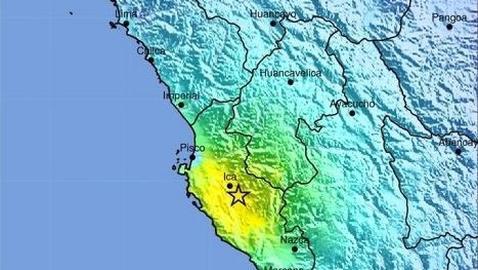 Un terremoto de 6,2 deja un centenar de heridos leves en el suroeste de Perú