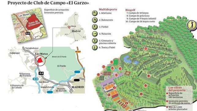 La casa de campo del noroeste tendr golf h pica y f tbol - Mapa de la casa de campo ...