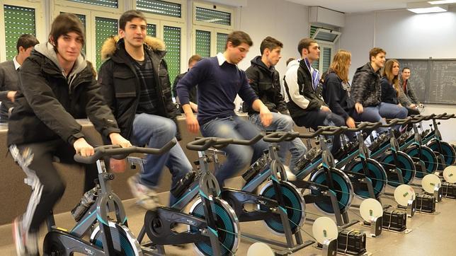 Energía a pedaladas