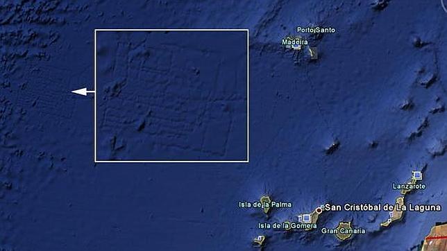 La Atlántida desaparece de Google Earth