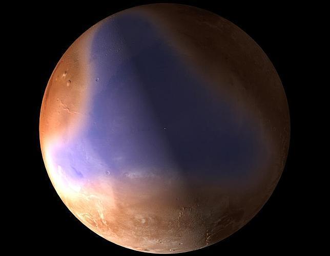 Un océano cubrió parte de Marte hace más de 3.000 millones de años