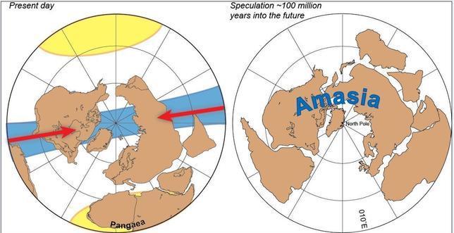Amasia, el próximo supercontinente