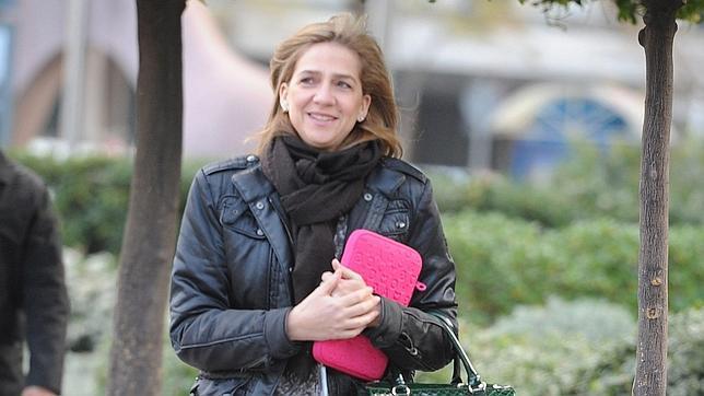 La Infanta Doña Cristina viaja a Madrid