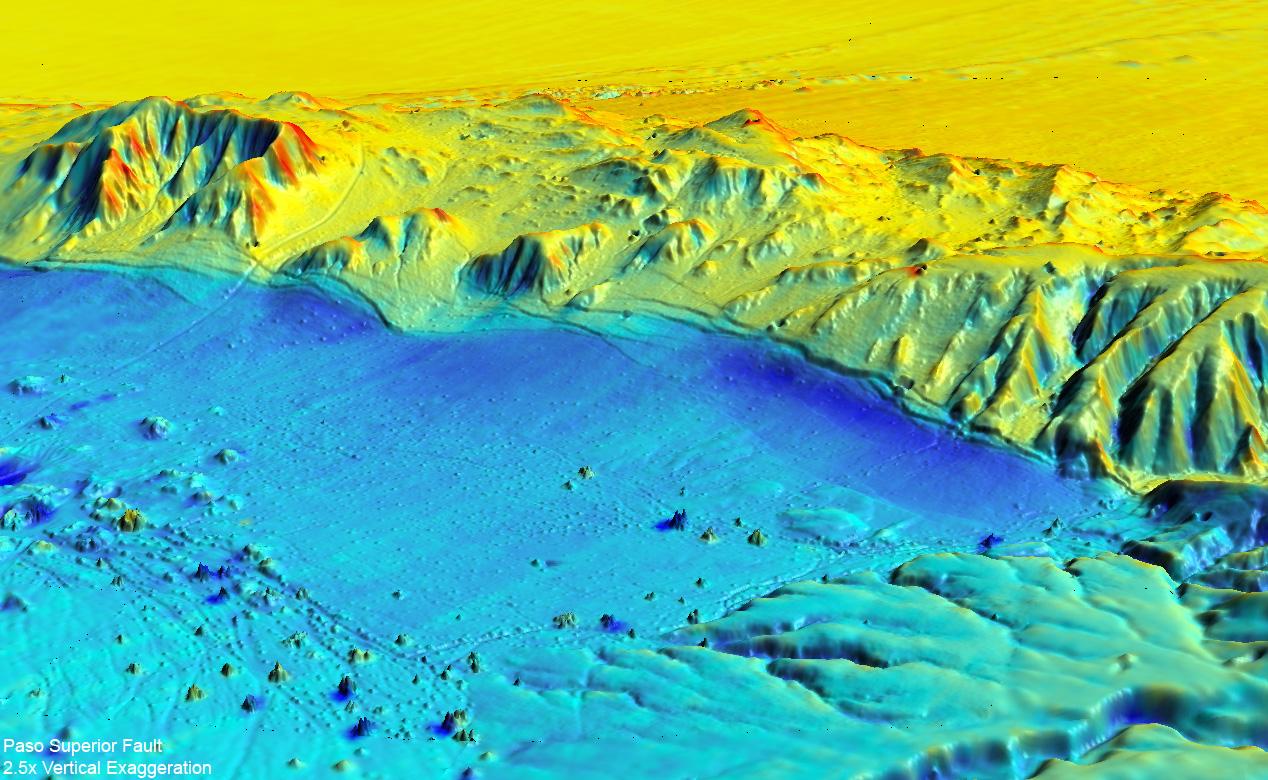 Un mapa láser en 3D muestra el antes y después de un terremoto