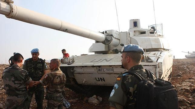 La guerra civil de Siria ya amenaza a las tropas españolas en el Líbano