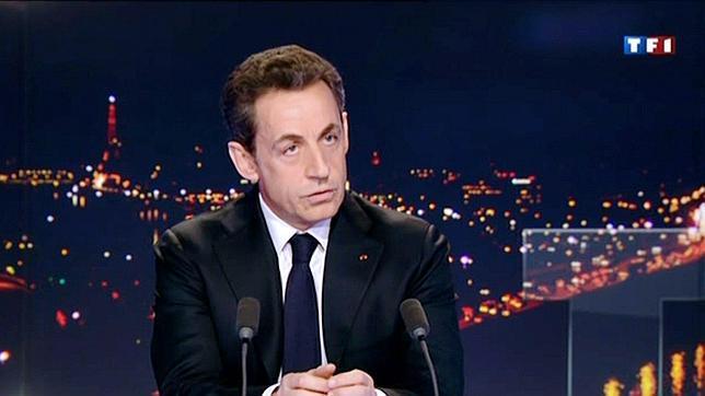 Sarkozy anuncia oficialmente su candidatura a las Presidenciales