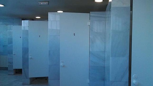 Cabinas individuales con vestidor y ducha - ABC.es