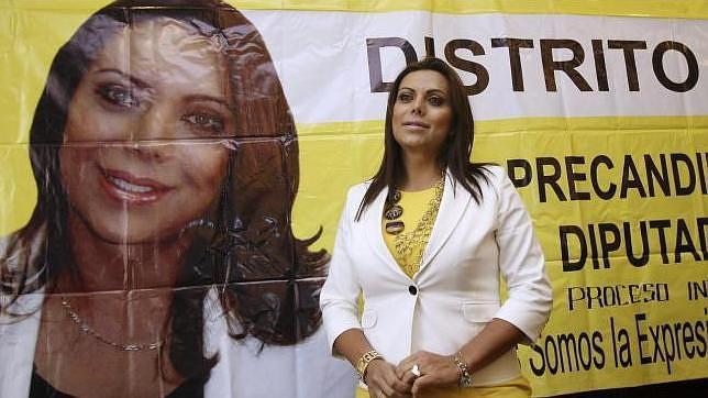 Diana Sánchez Barrios, la primera mujer transexual que aspira a un escaño en México DF