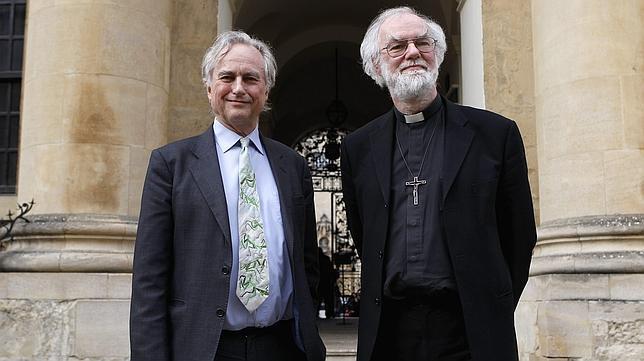 Empate en Oxford entre el ateo Dawkins y el arzobispo Williams
