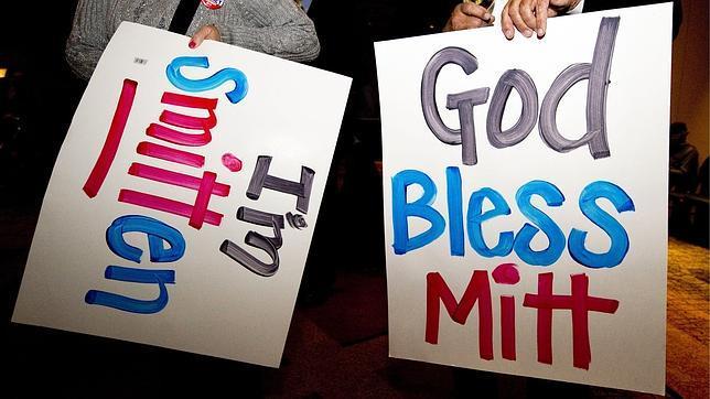 Romney gana Michigan y Arizona y recupera el pulso para el «supermartes»
