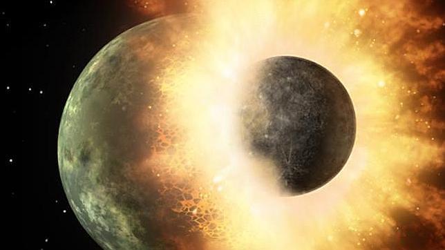 Así fue el gran bombardeo sobre la Luna