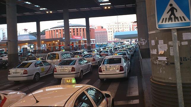 Atocha una trampa para los taxistas for Oficina de empleo atocha