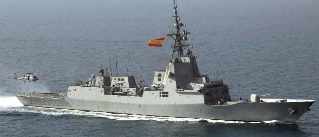 España negocia la participación de las fragatas F-100 en el escudo antimisiles