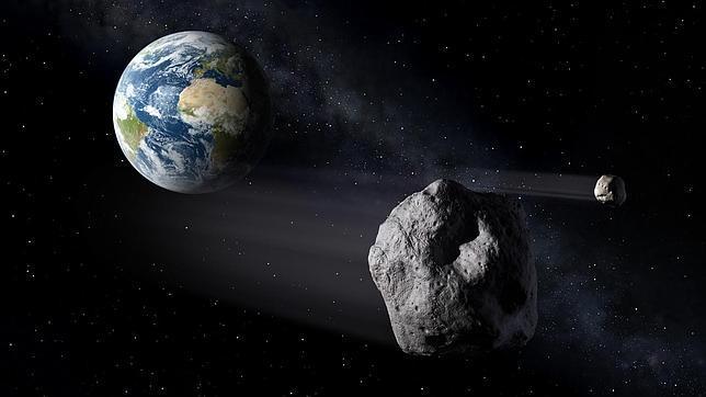 Un gran asteroide puede amenazar la Tierra en 2040